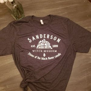 Bella Canvas Tops - Sanderson witch museum shirt